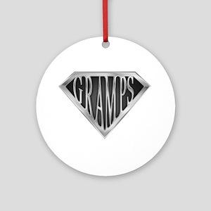 spr_gramps2 Round Ornament