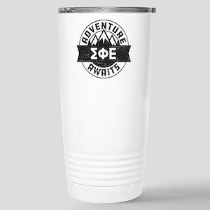 Sigma Phi Epsilon 16 oz Stainless Steel Travel Mug