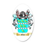 Maw Oval Car Magnet