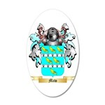 Maw 20x12 Oval Wall Decal