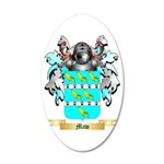 Maw 35x21 Oval Wall Decal