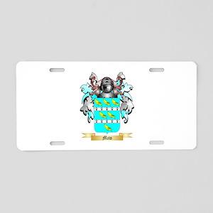 Maw Aluminum License Plate