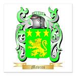 Mavros Square Car Magnet 3