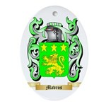Mavros Oval Ornament