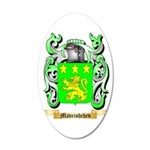 Mavrishchev 35x21 Oval Wall Decal