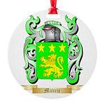 Mavric Round Ornament
