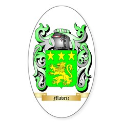 Mavric Sticker (Oval 10 pk)