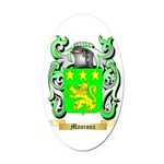 Mauroux Oval Car Magnet