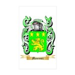 Mauroux Sticker (Rectangle 50 pk)
