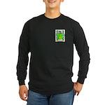 Maurou Long Sleeve Dark T-Shirt