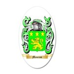 Mauron 35x21 Oval Wall Decal