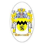 Mauritzen Sticker (Oval 50 pk)