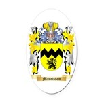 Maurisson Oval Car Magnet