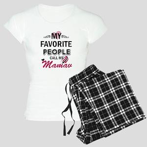 My Favorite People Call Me Mamaw pajamas c604300a9