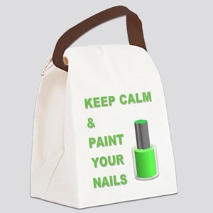 KEEP CALM... Canvas Lunch Bag