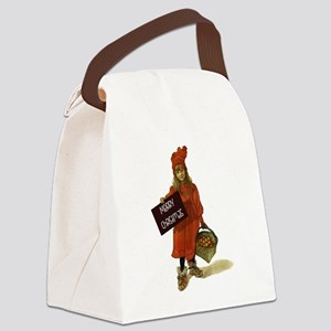 Merry Christmas from Brita Canvas Lunch Bag