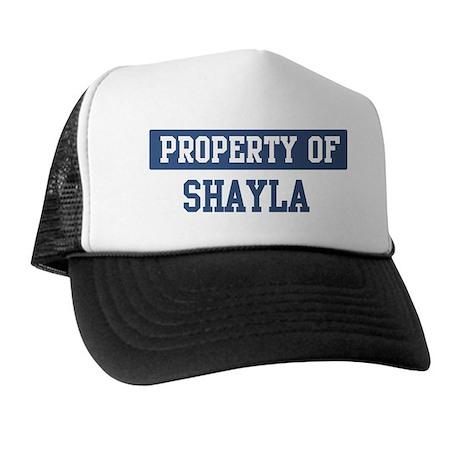 Property of SHAYLA Trucker Hat