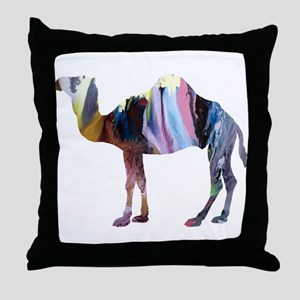 Dromedary Throw Pillow