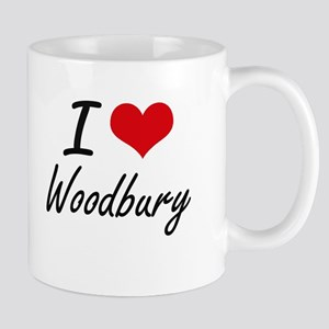 I love Woodbury Massachusetts artistic desig Mugs