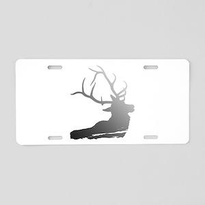 Stag Aluminum License Plate