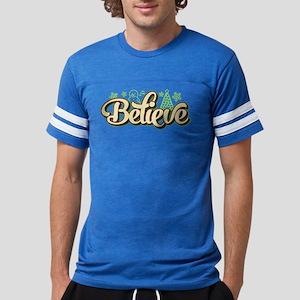 Believe Christmas Mens Football Shirt