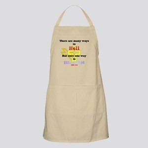 Way to Heaven BBQ Apron