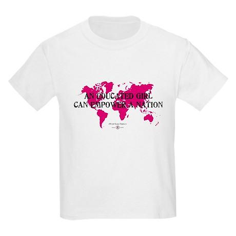 An Educated Girl Can Empower Kids Light T-Shirt