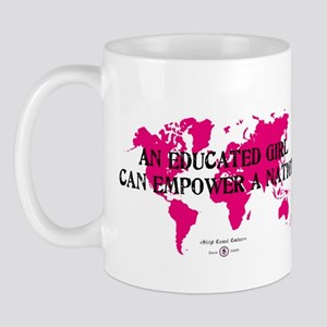 An Educated Girl Can Empower Mug