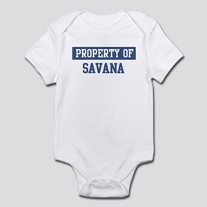 Property of SAVANA Infant Bodysuit