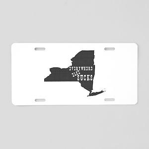 New York Aluminum License Plate