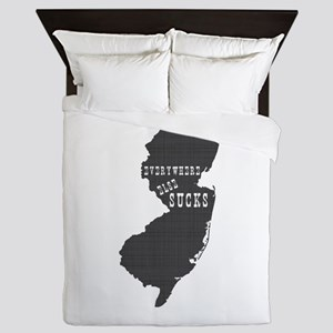 New Jersey Queen Duvet