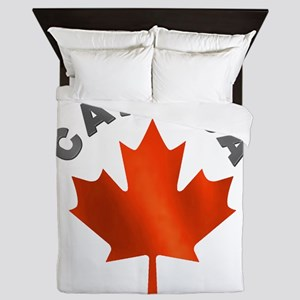 MAPLE_LEAF_CAN Queen Duvet