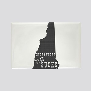 New Hampshire Rectangle Magnet