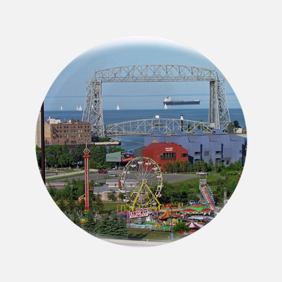 The Duluth Aerial Lift Bridge, a carnival and a sh
