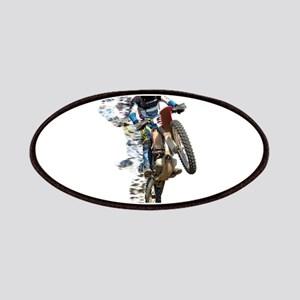 Motocross with Flying Pieces Patch