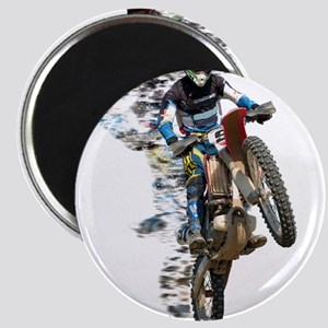 Motocross with Flying Pieces Magnets