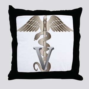 vet11_d Throw Pillow