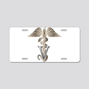 vet11_d Aluminum License Plate