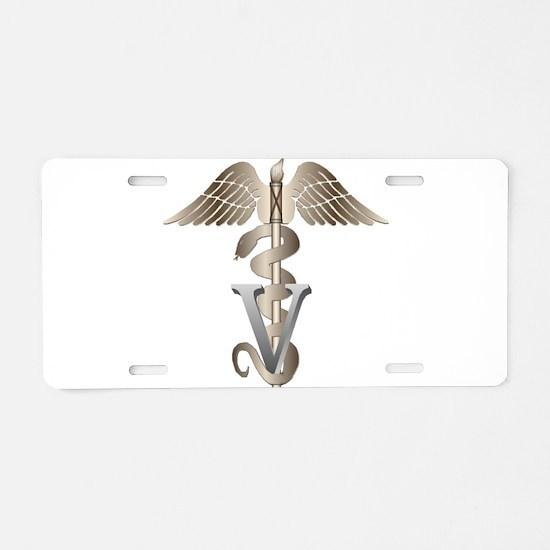vet11_d.png Aluminum License Plate