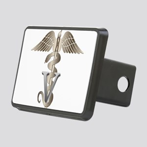 vet11_d Rectangular Hitch Cover
