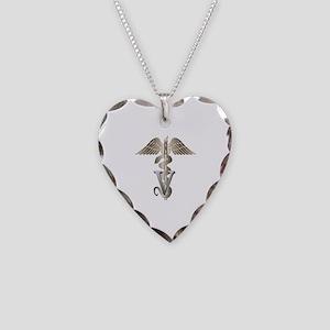 vet11_d Necklace Heart Charm