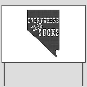 Nevada State Yard Sign
