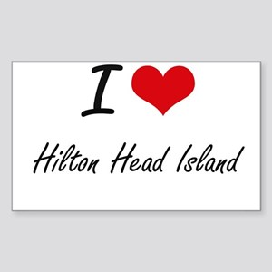 I love Hilton Head Island South Carolina Sticker