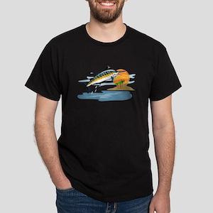 Blue Marlin in Tropical Sea T-Shirt