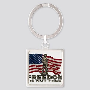 FREEDOM NOT FREE Keychains