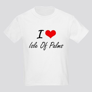 I love Isle Of Palms South Carolina artis T-Shirt