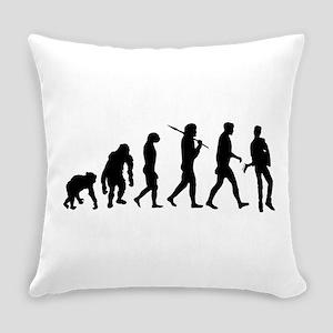 Guitar Evolution Everyday Pillow