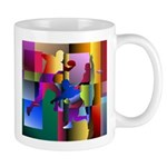 Cubist Disc Golf Mug Mugs