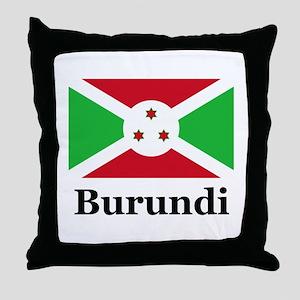 Burundi Throw Pillow