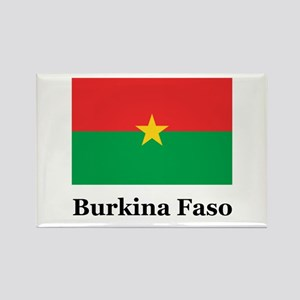 Burkina Faso Rectangle Magnet
